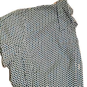 Talbots Women's Button Down short sleeve Shirt